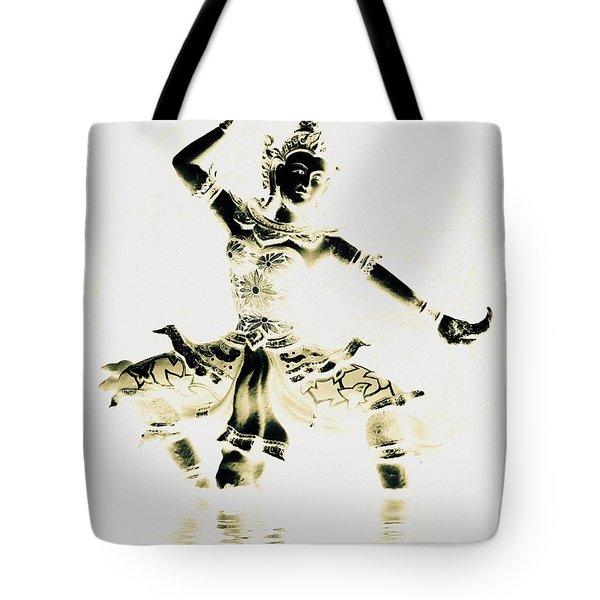 Buddhist Dancer Tote Bag