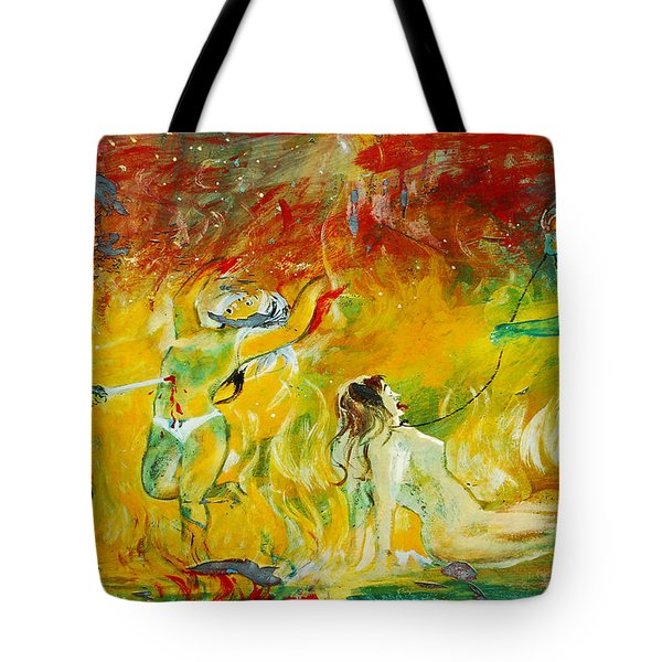 Buddhist Hell Tote Bag by RicardMN Photography