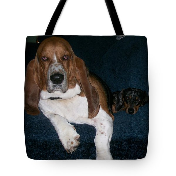 Buddies Tote Bag by Peter Suhocke