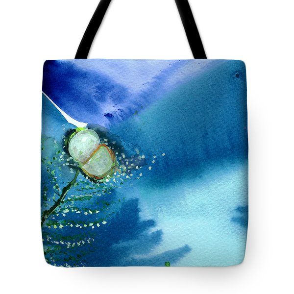 Budding 2 Tote Bag by Anil Nene