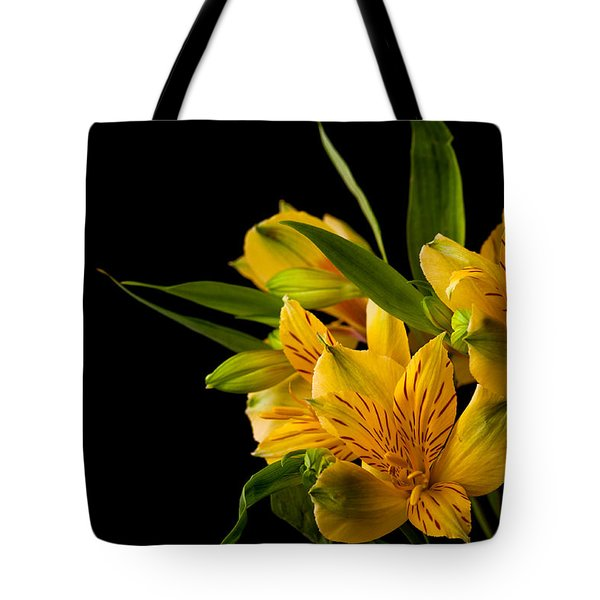 Tote Bag featuring the photograph Budding Flowers by Sennie Pierson