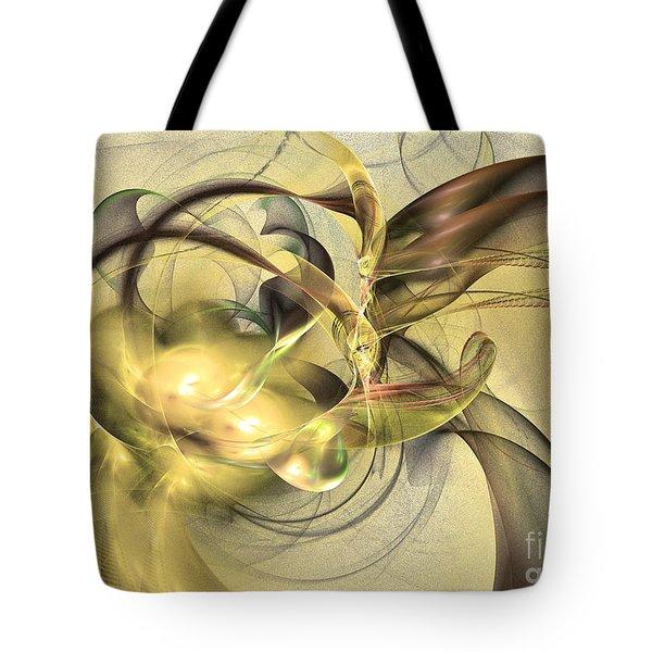 Budding Fruit - Abstract Art Tote Bag