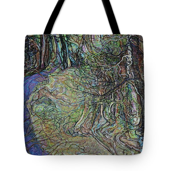 Budding Trees Tote Bag