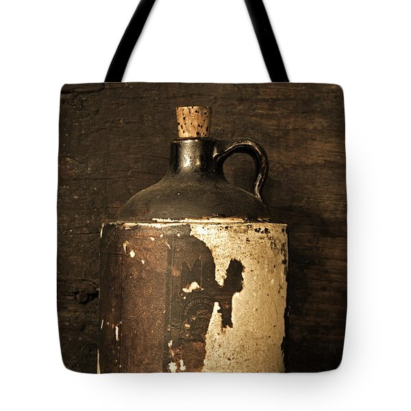 Buddy Bear Moonshine Jug Tote Bag