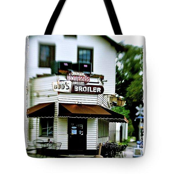 Bud's Broiler Tote Bag by Scott Pellegrin