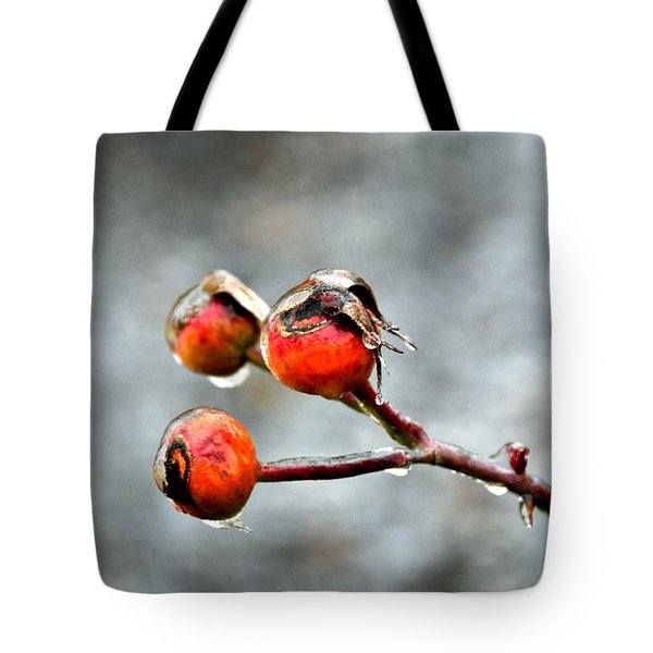 Buds On Ice Tote Bag