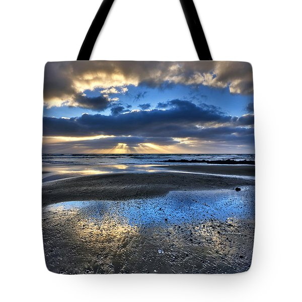 Bue Sky Reflections Tote Bag