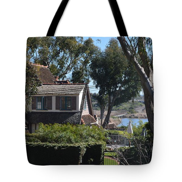 Tote Bag featuring the photograph Buena Vista Lagoon by Laurie Lundquist