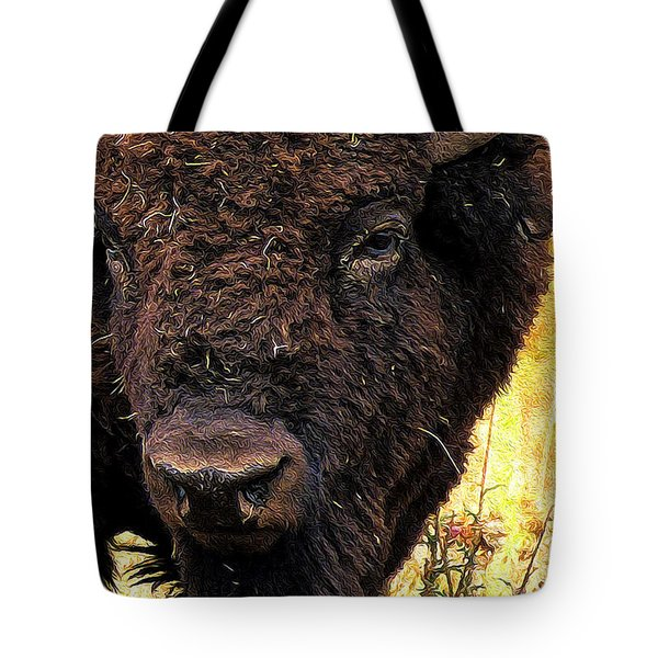 Ragweed Buffalo Tote Bag