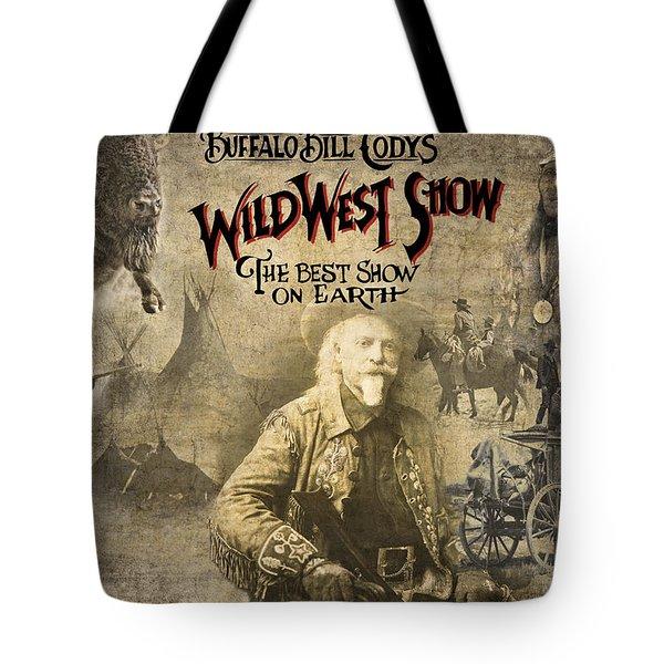 Buffalo Bill Wild West Show Tote Bag