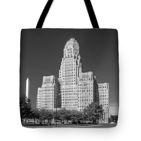 Buffalo City Hall 0519b Tote Bag