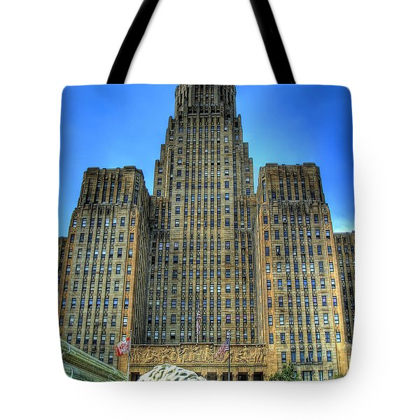 Buffalo City Hall Tote Bag