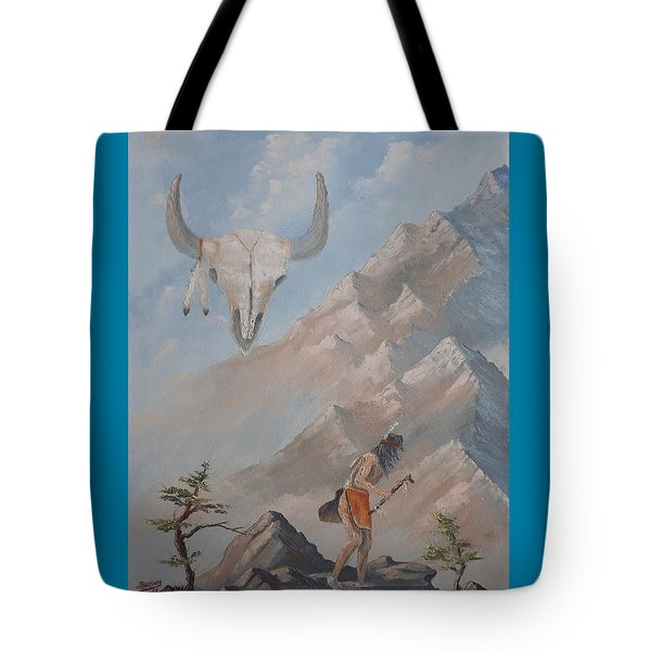 Buffalo Dancer Tote Bag