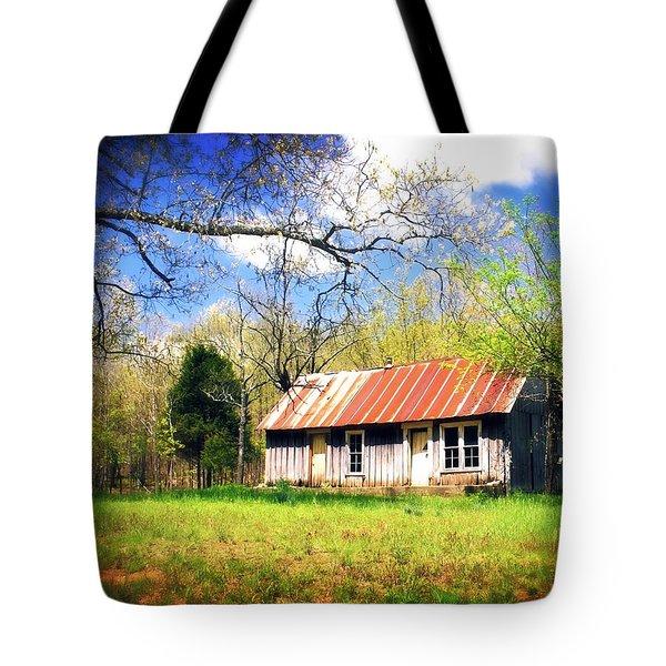 Buffalo River Homestead Tote Bag by Marty Koch