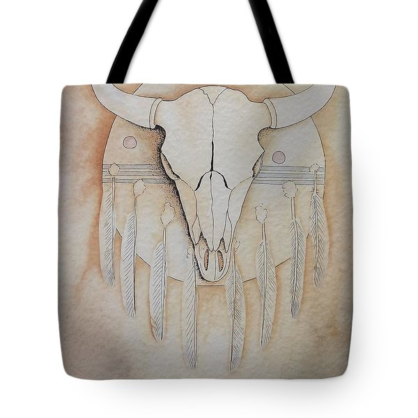 Buffalo Shield Tote Bag