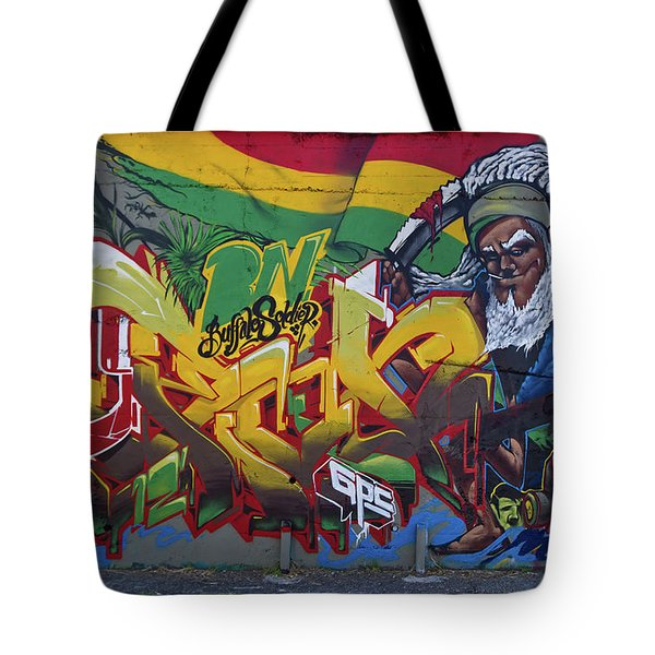 Buffalo Soldier Tote Bag