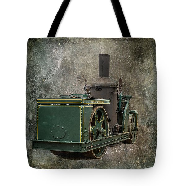 Buffalo Springfield Steam Roller Tote Bag by Paul Freidlund