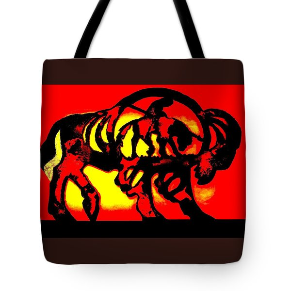 Buffalo Sun Set Tote Bag