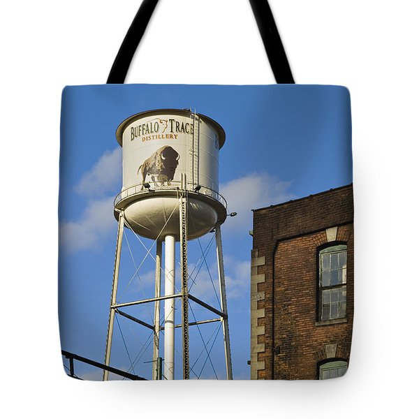 Buffalo Trace - D008739a Tote Bag by Daniel Dempster