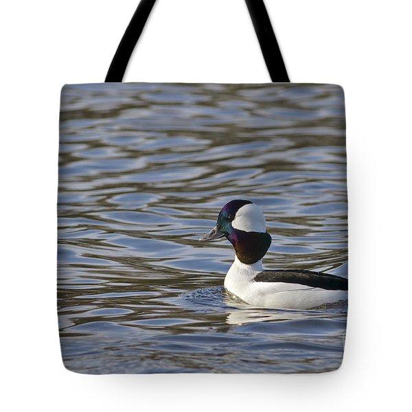 Bufflehead Duck Tote Bag