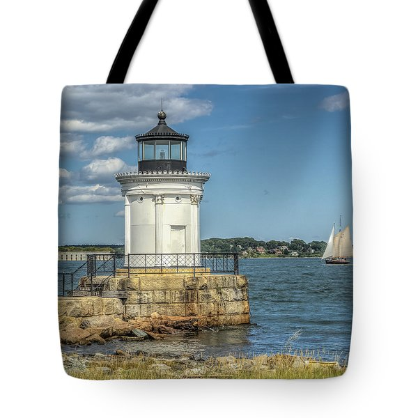 Tote Bag featuring the photograph Bug Light by Jane Luxton