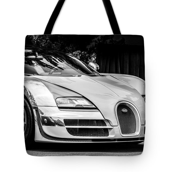 Bugatti Legend - Veyron Special Edition -0844bw Tote Bag