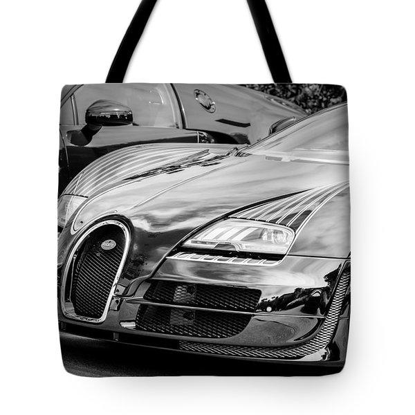 Bugatti Legend - Veyron Special Edition -0845bw Tote Bag