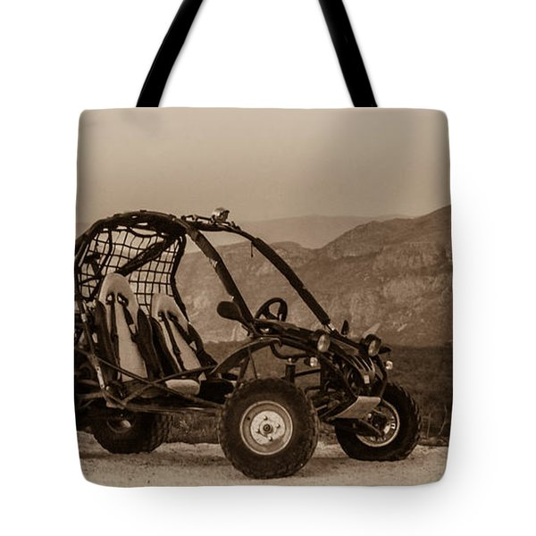 Buggy Tote Bag by Silvia Bruno