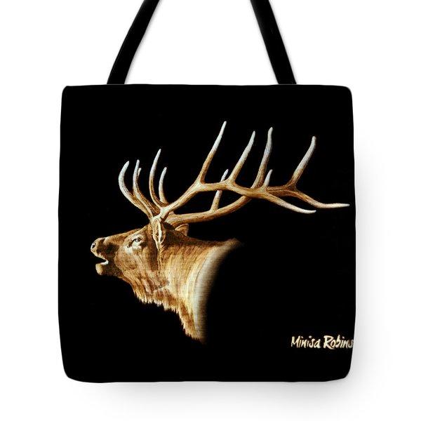 Bugle Tote Bag by Minisa Robinson