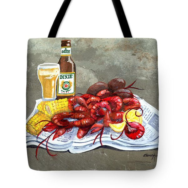 Bugs And Beer Tote Bag by Elaine Hodges