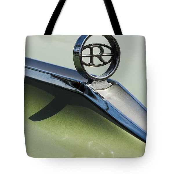 Buick Riviera Hood Ornament Tote Bag by Jill Reger