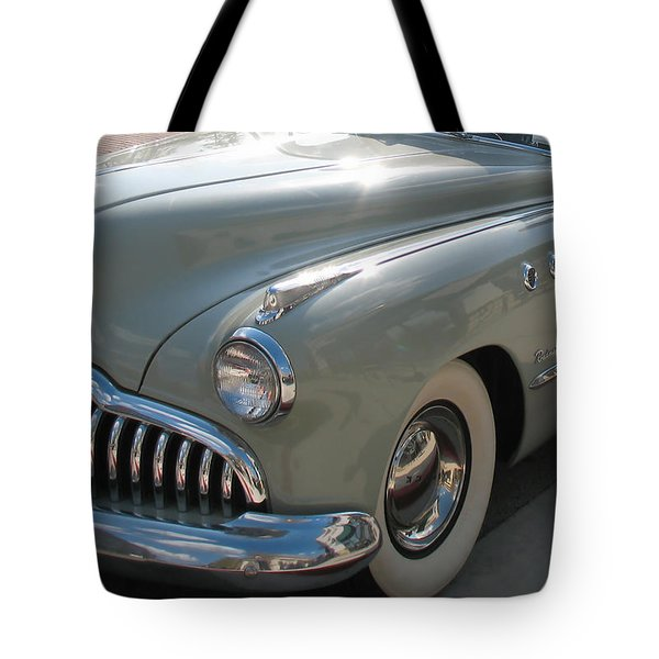 Buick Roadmaster Tote Bag by Connie Fox