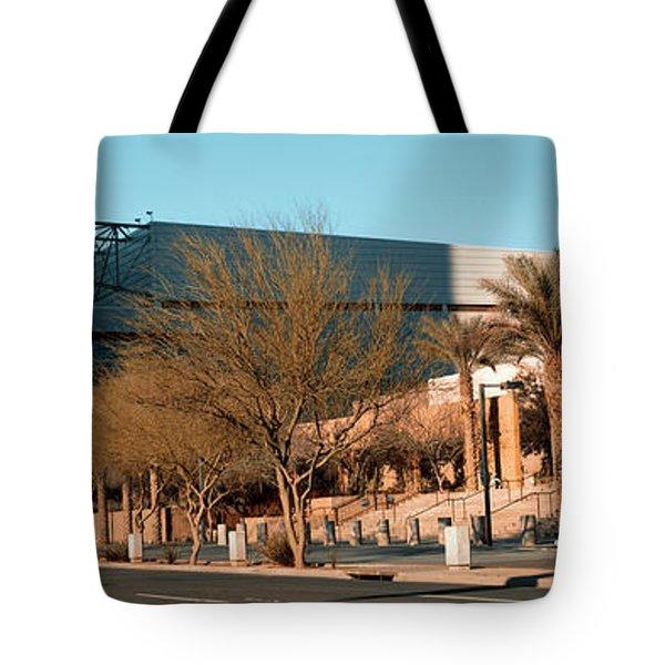 Building Along A Street, Phoenix Tote Bag
