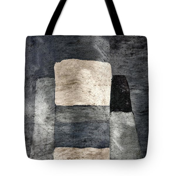 Building Blocks Tote Bag by Carol Leigh