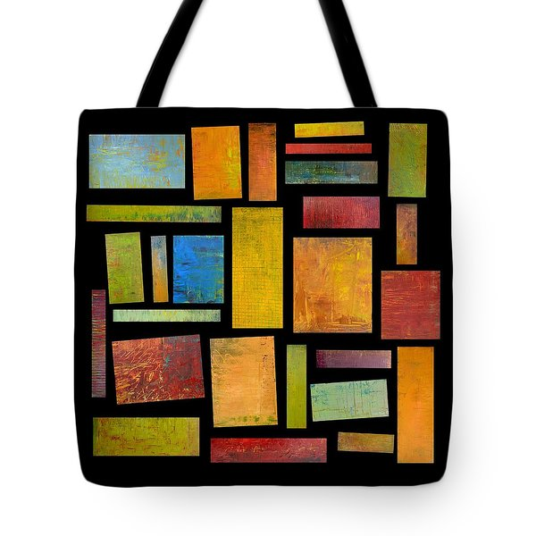 Building Blocks Four Tote Bag