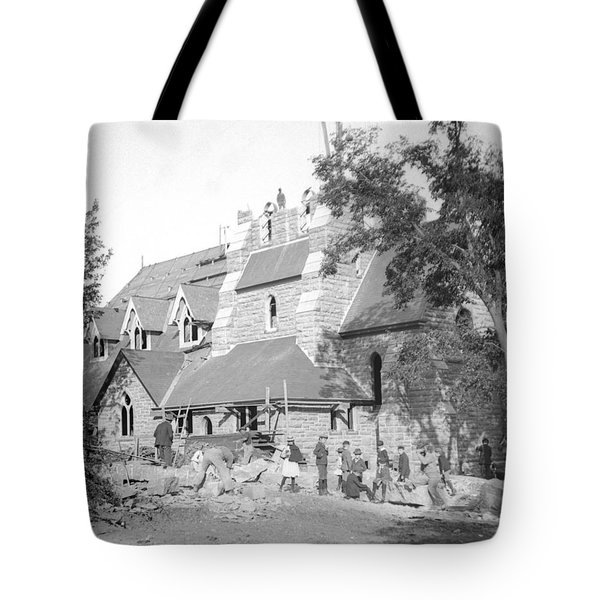 Building Church Tote Bag
