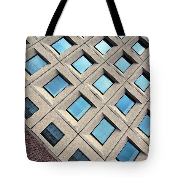 Building Of Windows Tote Bag