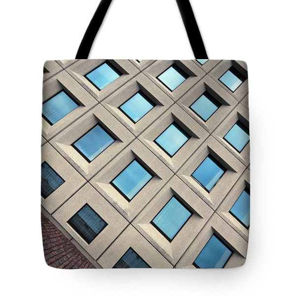 Building Of Windows Tote Bag