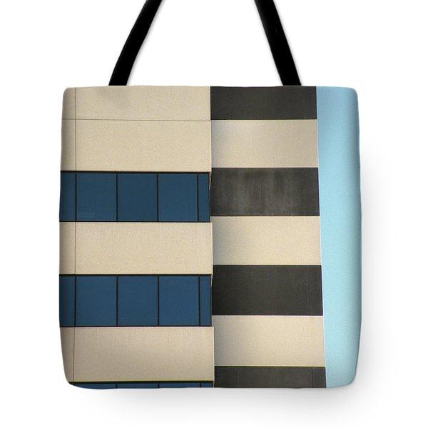Building Walls Tote Bag