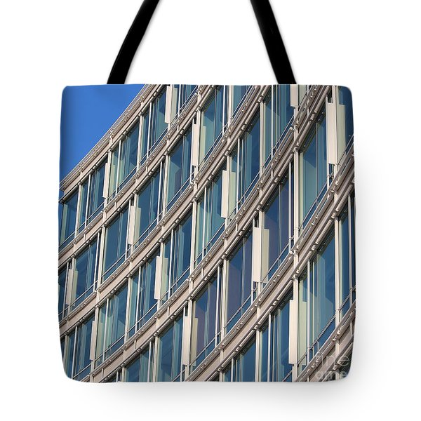 Building With Windows Tote Bag by Cynthia Snyder