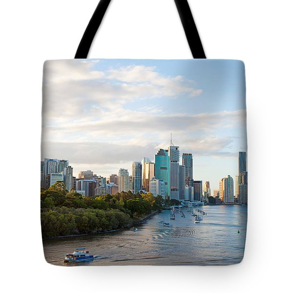 Buildings At The Waterfront, Brisbane Tote Bag