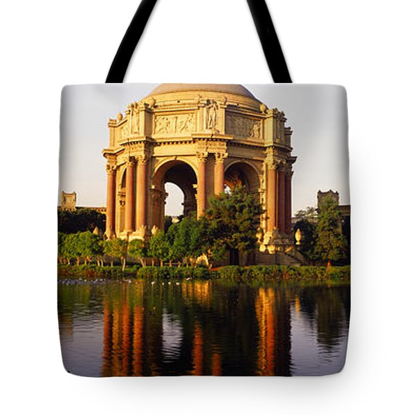Buildings At The Waterfront, Palace Of Tote Bag