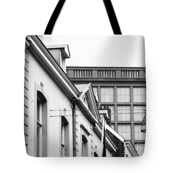 Tote Bag featuring the photograph Buildings In Maastricht by Nick  Biemans