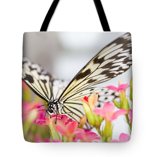 Tote Bag featuring the photograph Built-in Straw by Windy Corduroy