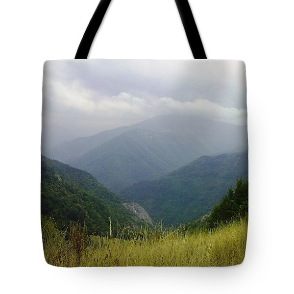 Bulgaria  Rodope Mountain Tote Bag
