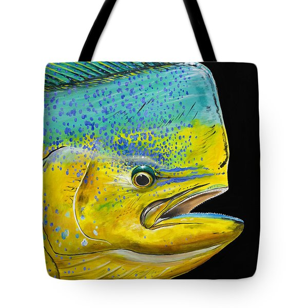 Bull Head Off0033 Tote Bag by Carey Chen