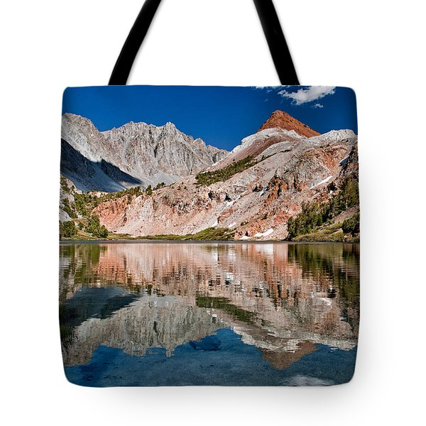 Bull Lake And Chocolate Peak Tote Bag