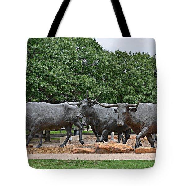 Bull Market Tote Bag by Christine Till