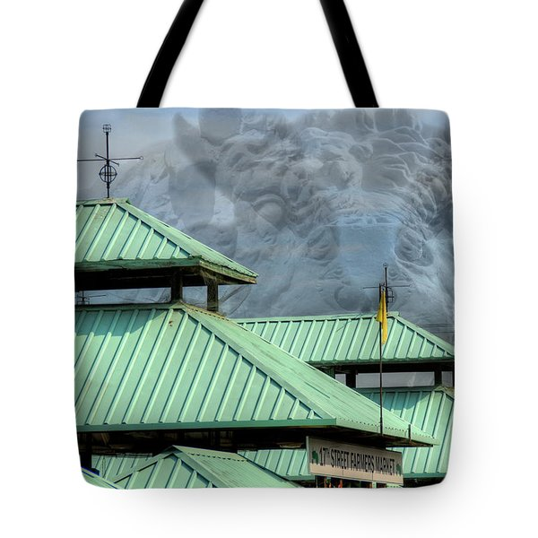 Tote Bag featuring the photograph Bull Market by Kelvin Booker