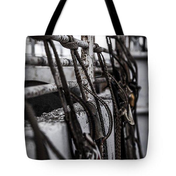 Bull Ropes Tote Bag